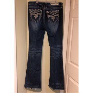 Rock Revival Bootcut Bling Jeans 32XL